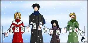 Fma - Merry Christmas by windrider01
