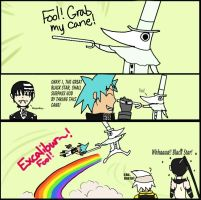 Soul Eater: Grab my Cane by WolfsMoonrise
