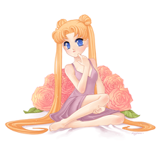 Usagi Tsukino by shimoyo