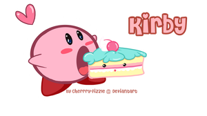 -: Munchies Kirby :- by Cherry-Fizzle