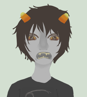 Karkat: GET ANGRY by uglyduckbella