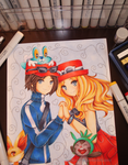 .Photo - Pkmn X Y Trainers. by lNeko-Hime