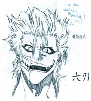 Thanks for 8000+PV and Gift: Grimmjow! by PeachBerryDivision