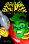 Savage Dragon in Space fan cover by DFSergent