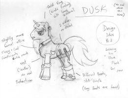 Dusk - Western design 2 by Wormy16