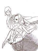 Ghirahim and Fi by LonelyVioletLacey