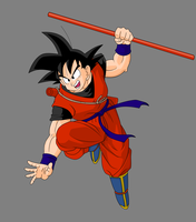 Young Goku by Lazaer