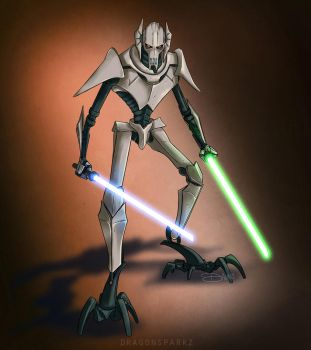 General Grievous - Commission by riku-gurl