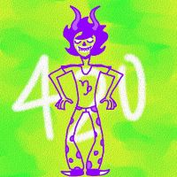gamzee 420 by IReallyHateMyself