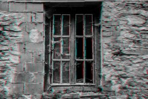 Creepy Window 3-D conversion by MVRamsey