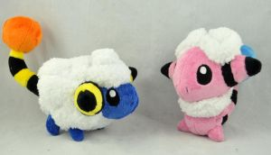 Mareep and Flaaffy