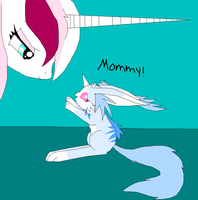 This is me and my pet ^^ by Ponyness1