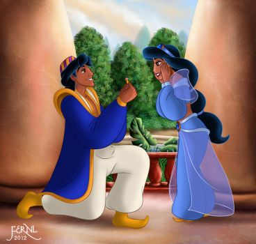 THE PROPOSAL by FERNL