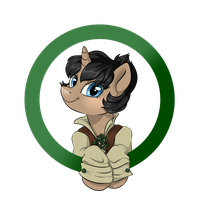 [Commission] Ally Badge by StyxLady