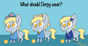 What should Derpy wear? by Raphaelsgirl
