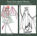 Draw it Again Meme - Viridian by aque-mizuhara