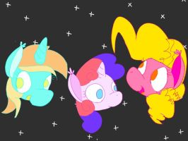 Ponies of another dimension by Deep-Fried-Love