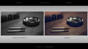 Cigarette and Ashtray by kewel72000