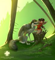 Short Story - The Wolf by Noukah