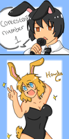 Easter fanservice contest 1 by SparxPunx