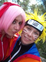 NaruSaku by AniCosOfficial
