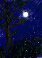 Night of the Fireflies ~ Sumsung Galaxy Note Smemo by MuArtGL