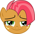 Babs Seed face Vectorized by FALExD