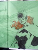 Batgirl in 6 easy steps STEP 4 by jimlee00