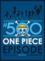 ONE PIECE 500 by Rod-D-Ruffy