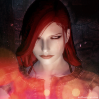 Scarlett, the Harbinger of the Companions by oxOSephirothOxo