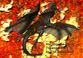 Dragon 4- Apr29 by markopolio-stock