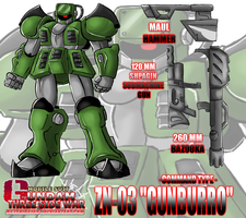 ZN-03 ''GUNBURRO'' - Command Type by Ishida1694