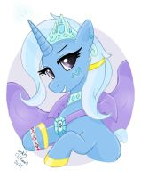 MLP FIM - Princess Trixie by Joakaha