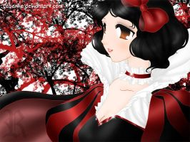 Clamp Snow White Blancanieves by rebenke