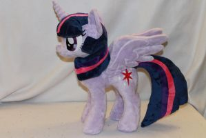 Commission: Alicorn Twilight Sparkle by KarasuNezumi