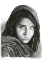 Afghan Girl by quincunx7