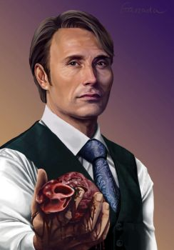 Hannibal Be My Valentine by Gassada