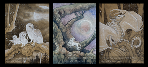 September Patreon cards by thedancingemu