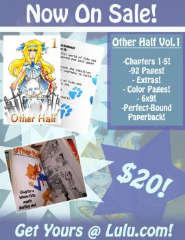 Other Half Volume 1 Now Available!! by furystarcat