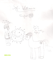 Sgt. Williams PONIFIED :D by Miel1994