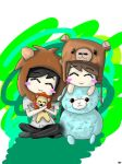 Chibi Dan and Phil by DD246