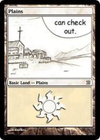 MtG: Plains by Overlord-J