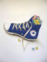 Marbles in Converse by amanda4quah