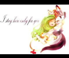 .::I stay here only for you::. by KC0331
