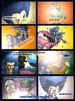 P2 fight 3 by gryphyn7