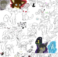2011 Doodles by Izzyhime