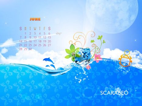 Scarabeo bar wallpaper july by FaceyFace