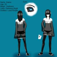 Anaria character sheet by No1-knows-me