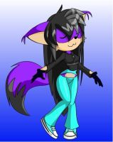 Me as a sonic char by Ask-Crystal-Mabma