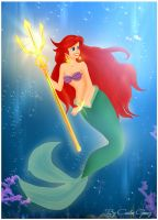 The Little Mermaid La Sirenita by krlozaguilera
